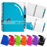 curvy top notebook set with front cover pocket