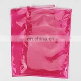 cpp and non woven bag with zipper for cloth package