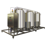Cip Plant Auto Regulates Acid / Alkali  Cip Cleaning System