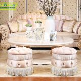 OE-FASHION luxury style living room furniture comfortable wood sofa