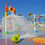 Fiberglass Water Attractions Amall Water Spray Park for Resort