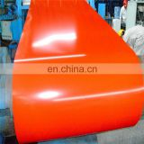 Promotion yellow PPGI color coated prepainted galvanized steel coil