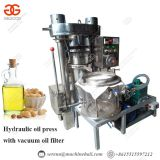 lower price hydraulic castor seed oil press machine full stainless steel and hydraulic sesame oil making machine
