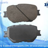 D1733 OEM brake pad,high quality ceramic lining,service life:80K kilometers