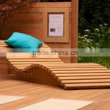 MODERN GARDEN FURNITURE - wooden outdoor furniture - sun lounger - wood outdoor furniture