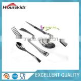 Stainless Steel Flatware Cutlery Set with Mirror Finish Including Fork Spoons Knife Four Piece Tableware Dinner Set
