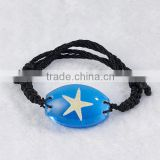 Wholesale bracelet for boy jewelry with real insects flowers inserted as promotional gifts
