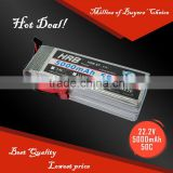 Rechargeable RC helicopter/boat high rate Li-po battery pack 50C6S 5000mAh 22.2v                                                                         Quality Choice