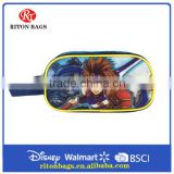 Wholesale Cartoon Character Cool Pencil Case for Boys with High Quality PVC Pencil Case for Students