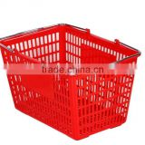 FOSHAN JIABAO supermarket laundry basket with hand