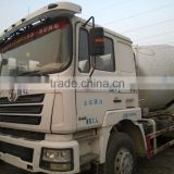 Popular used good condition forklift Mixer Truck denglong 2010YOM for cheap sale in shanghai