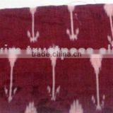 Handloom Ikat Fabrics Indian Cotton Fabric Ikkat Pattern Cotton Fabric by Yard Wholesale