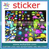 Twinkle little star ,shark ,elephant printed stickers