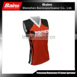 Hot sale fashionable women's sublimation volleyball jersey design with cheap price