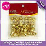 small size brass jingle bells for decorating