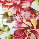 home textile fabric China Product 65 polyester 35 Cotton 10*10 thickness fashion print canvas fabric for sofa set