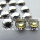 Wholesale Price Heat Transfer Dome Studs, Aluminum Transfer, Hotfix Half Round Aluminum, Half Rounds Hotfix for Lady Bag
