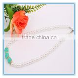 Latest Candy Color Fashion Bridal Wedding Costume Jewellry Beads Pearl Chain Necklaces Designs Pearl Necklace Jewelry