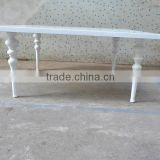 Unique solid wood white table for wedding party XYN276                                                                         Quality Choice
