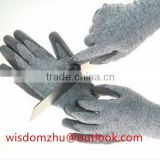 Cut Resistant Glove With nitrile Palm Coating/ Cut Resistant safety gloves/Nitrile Coated HPPE Cut-Resistant Gloves
