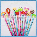 ATBC-PVC 2D animals pencil toppers for children's gifts