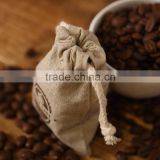 eco-friendly jute drawstring bag for wheat, rice and coffee beans packing                                                                         Quality Choice