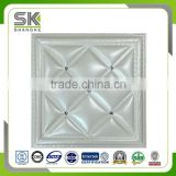 new style waterproof 3d pvc wall panel for ceiling tiles