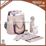 DB10002 Reshine Baby Set Bag Bottle Cooer Bag Change Mat Recycled Polyester Men Diaper Bag