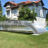 XINHAI SGS Proved solid polycarbonate hard plastic swimming pool cover