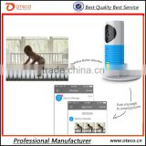 DOG-1W baby secutiry monitor with app for iphone and android cellphone wifi camera