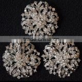 Rhinestone wheel PIN Brooch For Headbands,Weddings,Craft DIY Embellishment,Applique,Wholesale