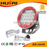 2016 new product super bright 10-30v 7 inch <b>motorcycle</b> part head lamp 63w led work light rechargeable c ree