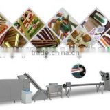 screw/shell/bulges extruded snack processing line/food machine/pellet chips making machine                                                                         Quality Choice
