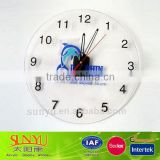 The International Famous Brand Luxury Acrylic Wall Clock roman numerals