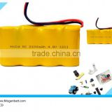 4.8 Volt 2100 mAh NiCD NiMH rechargeable battery pack