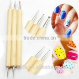 Belifa 5 X 2way Dotting Pen Marbleizing Nail Art Tool