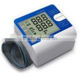 factory OEM wrist type blood meter with WHO indicator portable digital blood pressure monitor