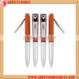 Promotional multifunction ballpoint pen, creative plastic ballpoint pen with nail clippers