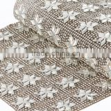 2016 New Arrival Hotfix Shinning Rhinestone Mesh for Shoes Decoration garment accessories