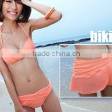 Women sexy sheer bikini swimwear