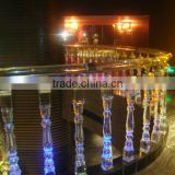 Crystal Column Stair Stairs Glass Decorative Pillars