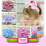 Top Baby Girls Big Flower Bow Hairband Turban Knot Rabbit Headband Baby Girls Butterfly Headbands