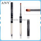 ANY Nail Art Design Pearl Handle Nail Makeup Brushes for Private Lable