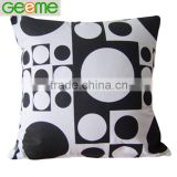 Printed Canvas Decorative Pillow with Vacuum Packing