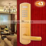 Electronic touch-screen inteligent code door lock for interior room household sensor card lock
