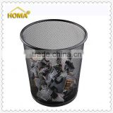 Smart Types Of Metal Office Wire Mesh Round Trash Can                                                                         Quality Choice