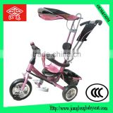 Lowest price kids tricycle/aluminum fram baby stroller/baby push bike