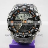 Outdoor sports 50m water resistant lcd digital multi-function watch