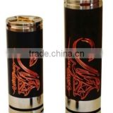 Yiloong new high quality electronic cigarette 26650 mod mechanical stingray mod black clone Philippines