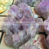 Natural Raw Drusy Large Amethyst Rock Crystal Cluster Wholesale